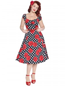 Flamingo Frocks Polka Dot Dress